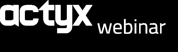 Actyx Industry 4.0 webinars logo